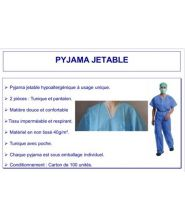B14 - Pyjama jetable 40mg